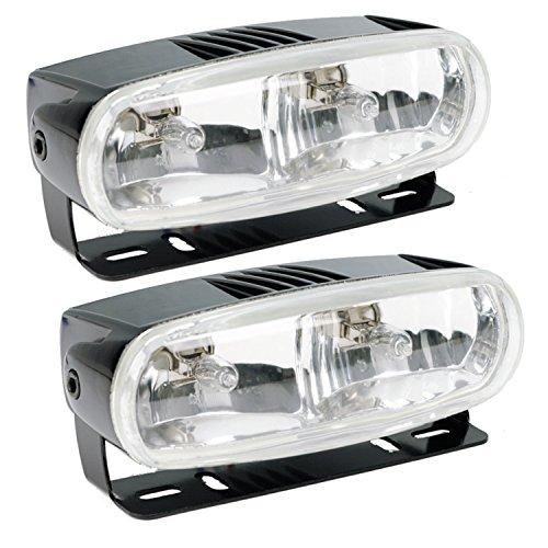 Optilux H71010321 Model 2020 12V Black Dual Beam Halogen Fog/Driving Lamp Kit (Dual Beam Driving Lights compare prices)