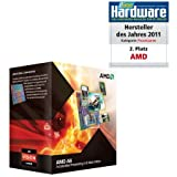 AMD A-Series A6 3670K Black Edition Quad-Core Processor (2.70 GHz, 4MB Cache, Socket FM1, 100W, Radeon HD6530D, 3 Year Warranty, Retail Boxed)