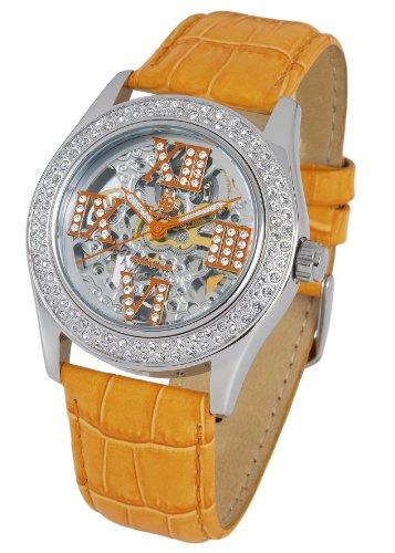 Burgmeister Ravenna BM140-100B - Reloj de mujer automático, correa de piel