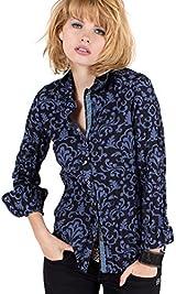 Iris Damask Shirt