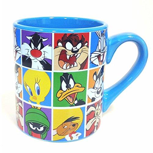 Mug - Looney Tunes - Group Blue (Ceramic Coffee Cup, 14Oz)