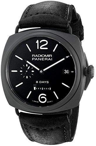 panerai-homme-45mm-bracelet-cuir-noir-boitier-ceramique-saphire-automatique-analogique-montre-pam003