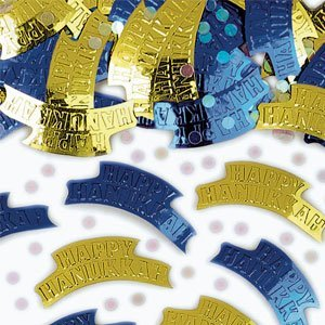 Happy Hanukkah Confetti