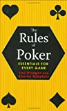 Lou Krieger The Rules of Poker: Essentials for Every Game