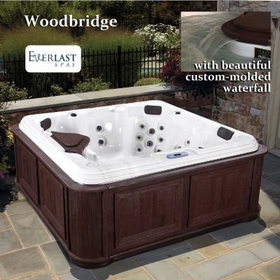 Everlast 60-Jet Woodbridge Spa - Mahogany