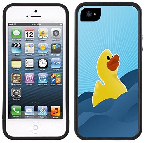 Rubber Duck Duckie Ducky Handmade Iphone 5C Black Case front-324305
