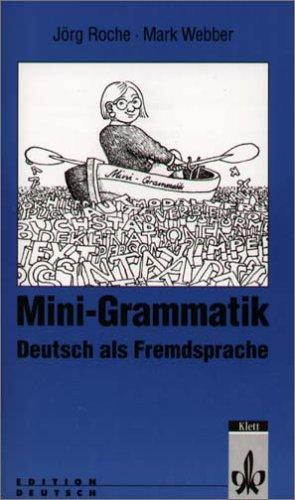 Grammatiktafeln Deutsch als Fremdsprache. (Lernmaterialien)