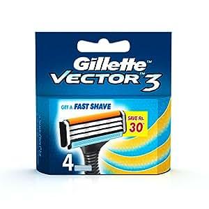 Gillette Vector 3 - 4 Cartridges