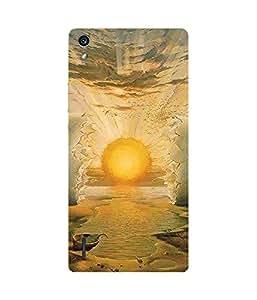 Sunset Ocean Huawei Ascend P7 Case