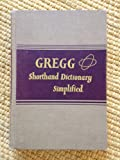 img - for Gregg Shorthand Dictionary Simplified book / textbook / text book