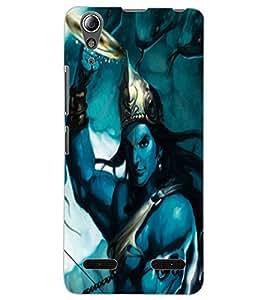 ColourCraft Lord Krishna Design Back Case Cover for LENOVO A6000