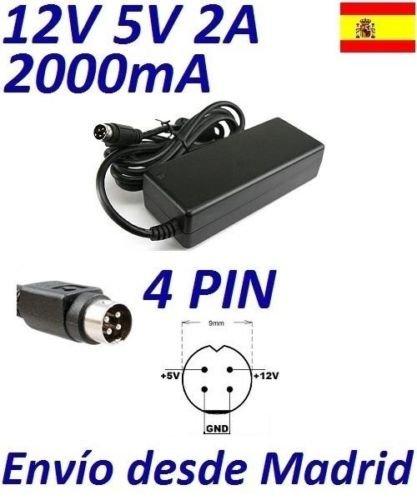 cargador-corriente-12v-5v-2a-4-pin-din-lacie-iomega-western-digital-reemplazo-recambio-replacement