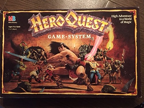 HeroQuest Game System by Milton Bradley (Heroes Quest Dice compare prices)