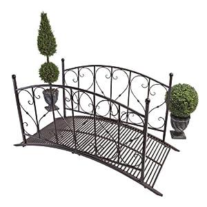 Share facebook twitter pinterest qty 1 2 3 4 5 for Metal garden bridge designs