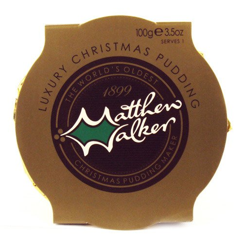 Matthew Walkers Luxury Victorian Christmas Pudding - 100g 4oz (British Fruitcake compare prices)