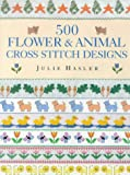 img - for 500 Flower & Animal Cross Stitch Designs book / textbook / text book