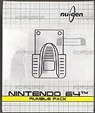 echange, troc Nu gen N64 Rumble pack - Nintendo 64
