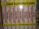 img - for Great Illustrated Classics, 8 Book Set in Case book / textbook / text book