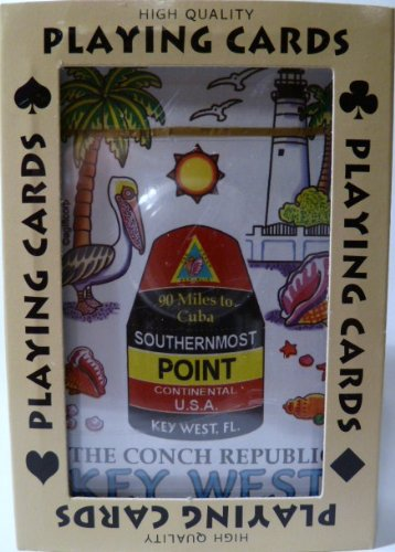Key West Florida Conch Republic Collectible Souvenir Playing Cards