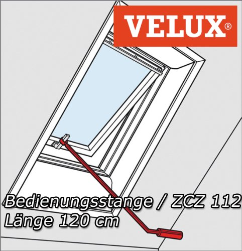 velux bedienungsstange. Black Bedroom Furniture Sets. Home Design Ideas