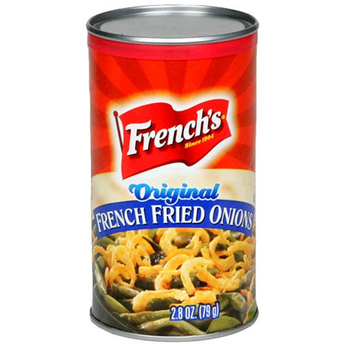 French's French Fried Onions, Original, 2.8-Ounce Cans (Pack of 24)