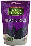 Natures Earthly Choice All Natural Rice, Black, 14 Ounce