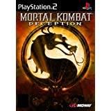 Play Station 2 with Net Play Mortal Kombat Deception