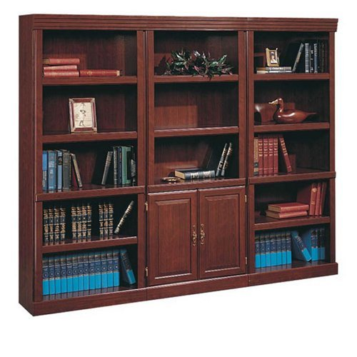 Heritage Hill Traditional Bookcase Set Classic Cherry (Wall Unit Bookcase compare prices)
