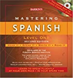 img - for Mastering Spanish, Level One with Audio CDs (Mastering Series/Level 1 Compact Disc Packages) book / textbook / text book