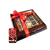 Chocholik Belgium Chocolate Gifts - Quintessential Collection 25 Pc Box With 3d Mobile Cover For IPhone 6 - Gifts...