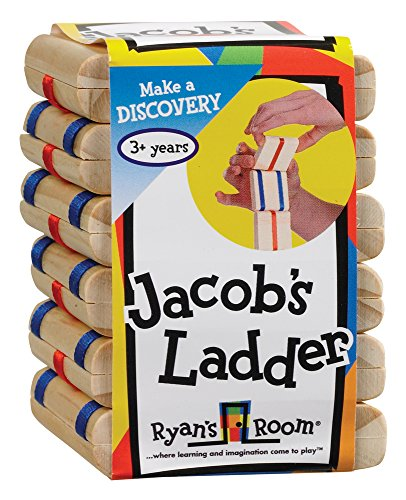 Small World Toys Ryan's Room Wooden Toys - Jacobs Ladder - 1