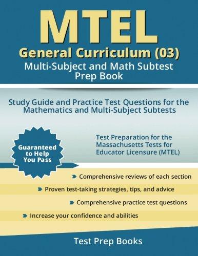 MTEL Test Information Guides