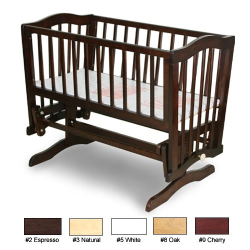 Fantastic Deal! Angel Line Mary Gliding Cradle in Espresso