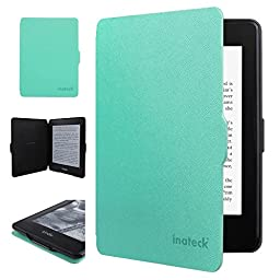 Inateck Kindle Paperwhite Cover Case for Amazon All-New Kindle Paperwhite (Fits All Versions: 2012, 2013, 2014 and 2015 New 300 PPI), with Auto Sleep Wake Function, Mint Green