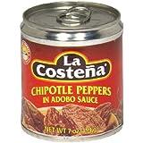 La Costena Chili Chipotle , 8er Pack  (8 x 199 g)