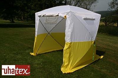 Bauzelt, Faltzelt, Montagezelt, Wetterschutz, leicht und in 30 Sekunden alleine auf- und abgebaut von UHATEX auf Gartenmöbel von Du und Dein Garten
