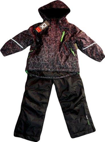 Color Kids.Ski-Anzug, Schneeanzug, Jussi Ski Set, schwarz