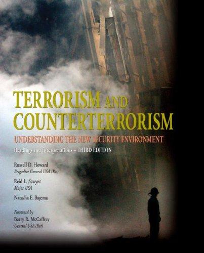 Terrorism and Counterterrorism: Understanding the New...