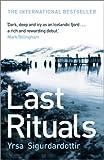 Last Rituals: Thora Gudmundsdottir Book 1 (Thóra Gudmundsdóttir crime series)