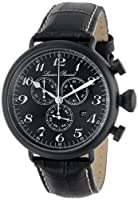 Lucien Piccard Men's LP-72414-BB-01-SA Trieste Analog Display Swiss Quartz Black Watch from Lucien Piccard