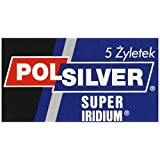 Polsilver Super Iridium Double Edge Razor Blades 5 razor blades by Polsilver