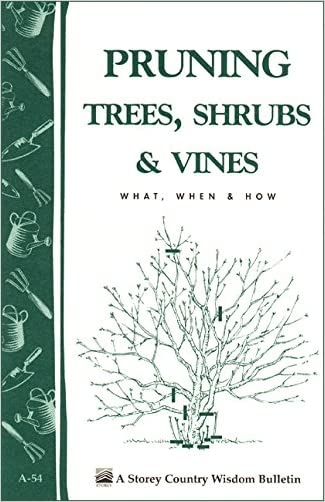 Pruning Trees, Shrubs & Vines: Storey's Country Wisdom Bulletin A-54 (Storey Country Wisdom Bulletin)