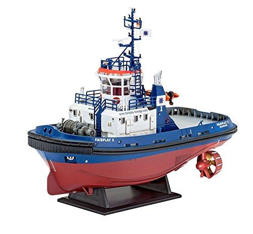 Revell-Modellbau-05213-Harbour-Tug-Boat-Fairplay-I-III-im-Mastab-1144