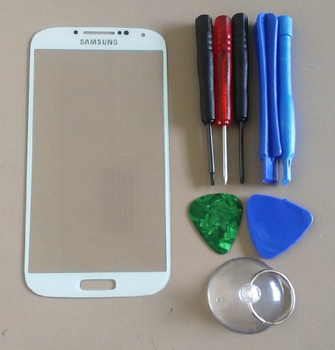 Replacement Screen Glass Front Lens For Samsung Galaxy S4 I9500 W/ Free Tools
