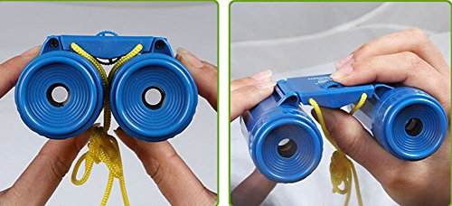 Kids Toy Binoculars Kids Telescope Outdoor Science Explore Educational Toys Blue