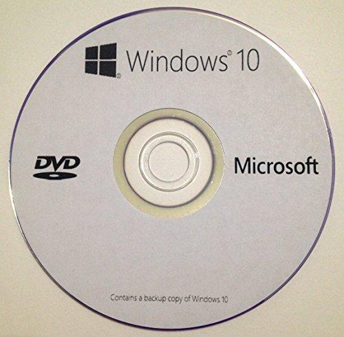 Windows 10 Home & Professional 64-Bits en DVD-ROM Española - Utilizado para la Reparación, Recuperación, Restauración y volver a Instalar