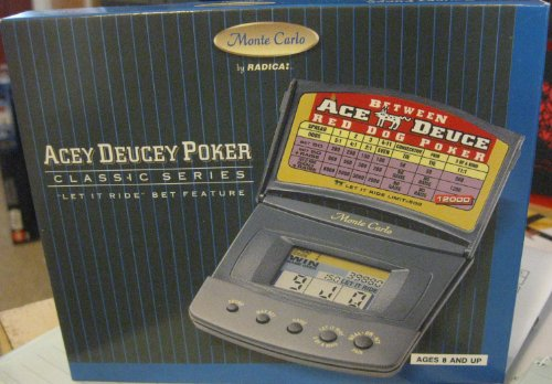 Acey Deucey Poker (Classic Series) - Electronic Handheld Game - 1