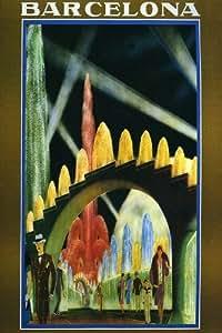 imagen Reproducción del cartel del vintage, tenemos otros tamaños