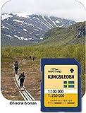 Satmap GPS System Karte 1:100000 Schweden Kungsleden Fernwanderweg, schwarz, SE-NT-100-SD-001