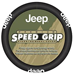 Officially Licensed Jeep Steering Wheel Cover